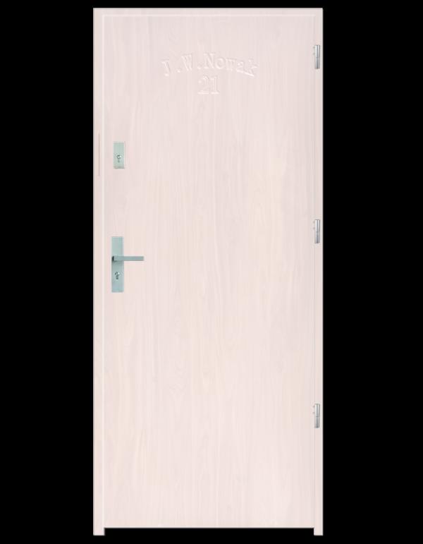 Drzwi wejściowe D10 Biały