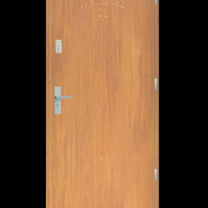 Drzwi wejściowe D10 Buk