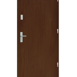 Drzwi wejściowe D10 Dąb Złoty