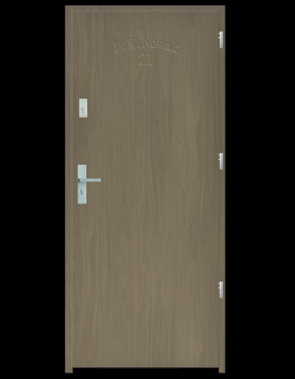 Drzwi wejściowe D10 Jesion