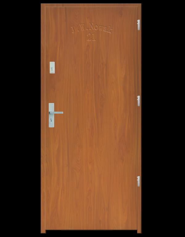 Drzwi wejściowe D10 Olcha