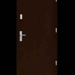 Drzwi wejściowe D10 Orzech Jasny