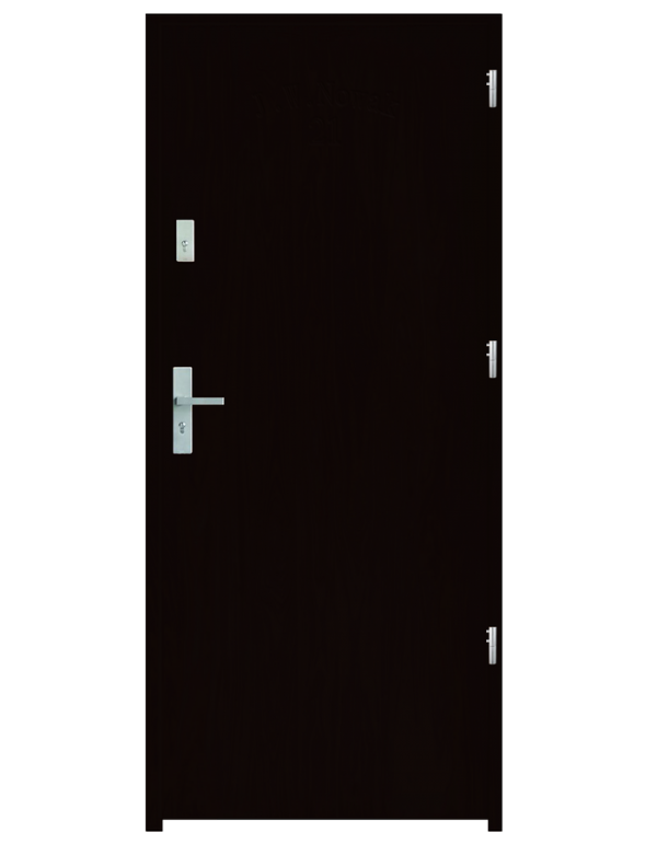 Drzwi wejściowe D10 Wenge