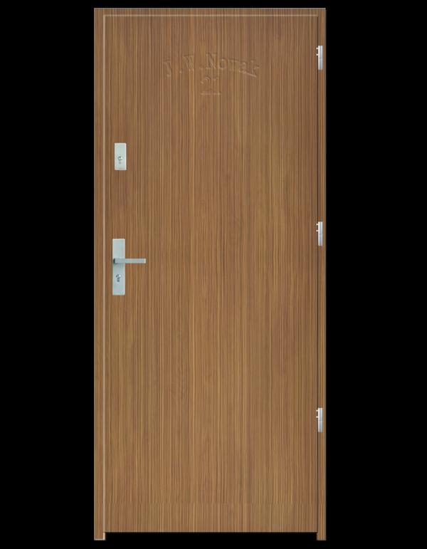 Drzwi wejściowe D10 Zebrano