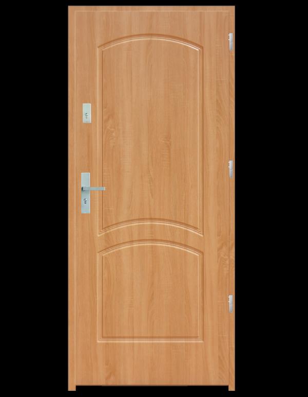 Drzwi wejściowe D2 Dąb Bielony
