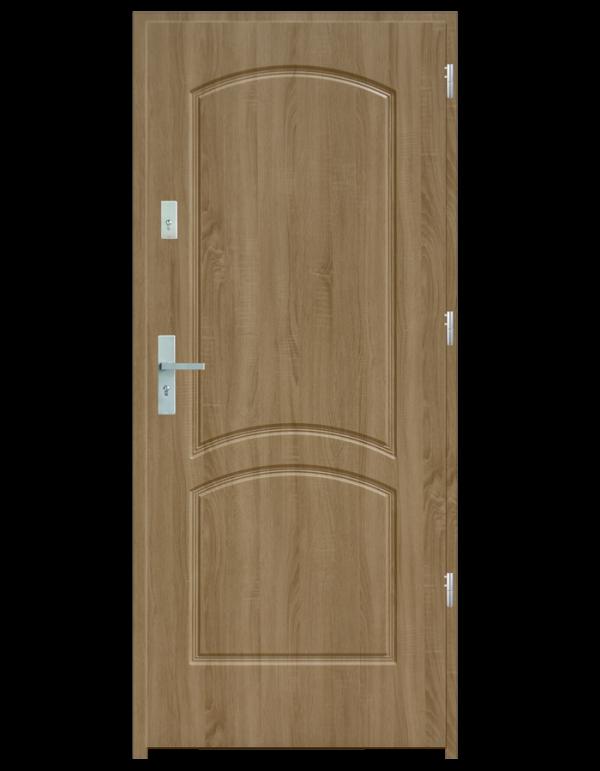 Drzwi wejściowe D2 Jesion