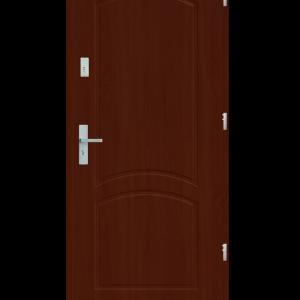 Drzwi wejściowe D2 Mahoń