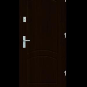 Drzwi wejściowe D2 Orzech Ciemny