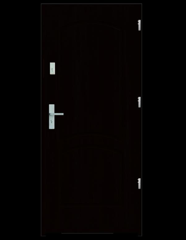 Drzwi wejściowe D2 Wenge