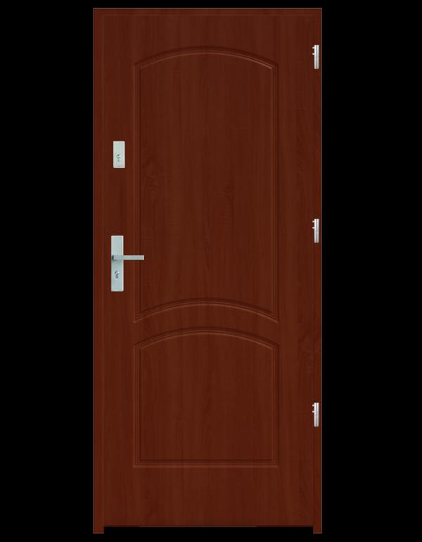 Drzwi wejściowe D2 Wiśnia