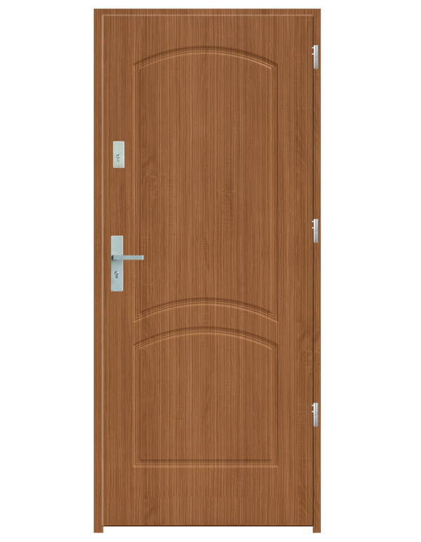 Drzwi wejściowe D2 Zebrano