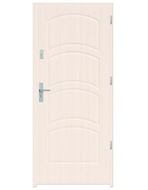Drzwi wejściowe D44 Biały
