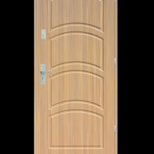 Drzwi wejściowe D44 Dąb Patyna