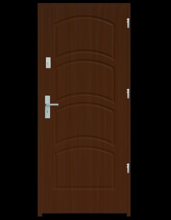 Drzwi wejściowe D44 Dąb Złoty