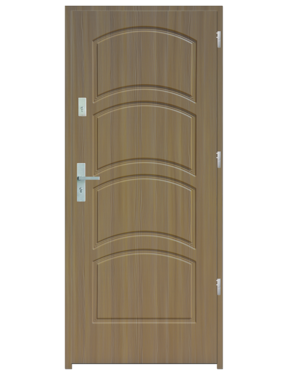Drzwi wejściowe D44 Jesion