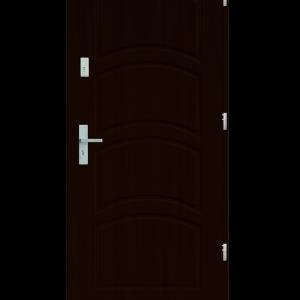 Drzwi wejściowe D44 Orzech Ciemny
