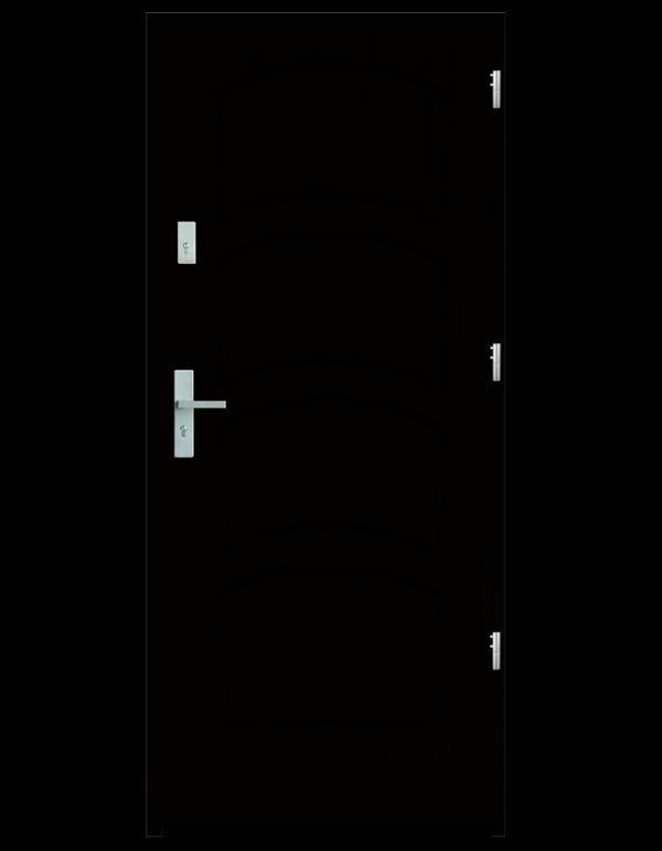 Drzwi wejściowe D44 Wenge