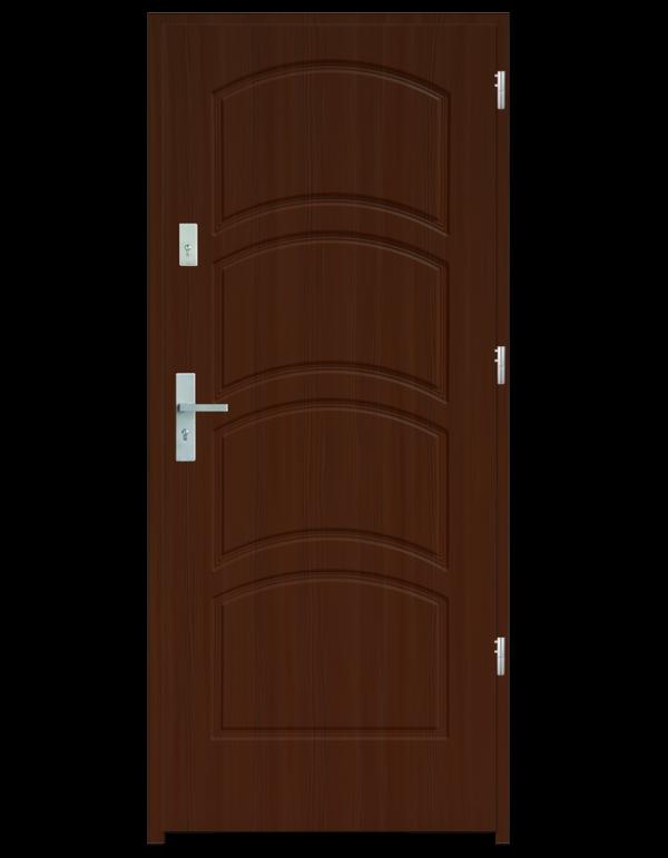 Drzwi wejściowe D44 Wiśnia