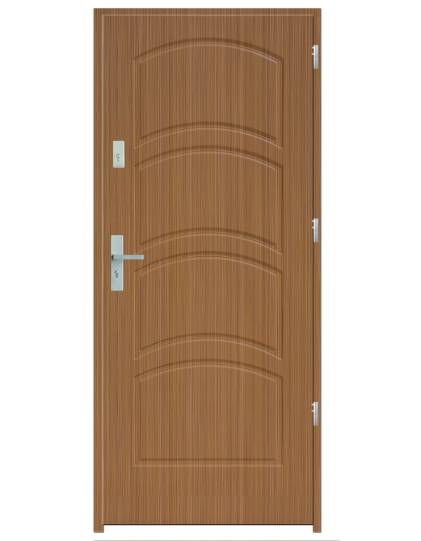 Drzwi wejściowe D44 Zebrano