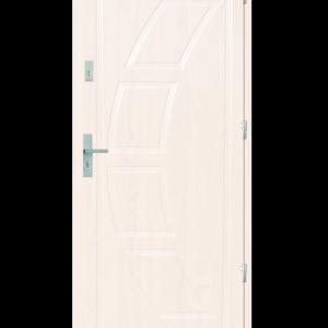 Drzwi wejściowe Dioryt 2 Biały