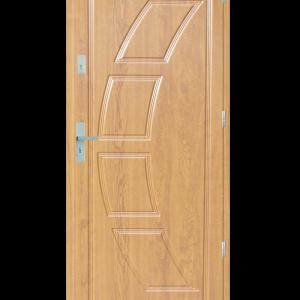 Drzwi wejściowe Dioryt 2 Dąb Bielony