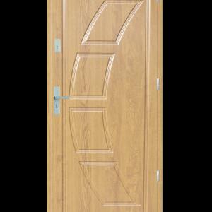 Drzwi wejściowe Dioryt 2 Dąb Patyna