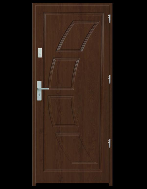 Drzwi wejściowe Dioryt 2 Dąb Złoty
