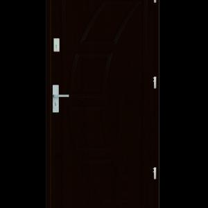 Drzwi wejściowe Dioryt 2 Kasztan