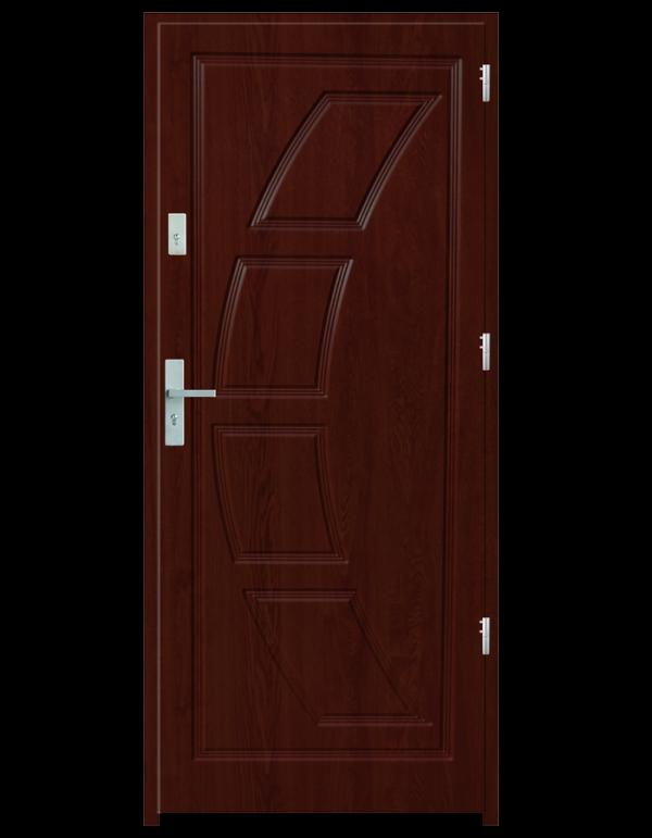 Drzwi wejściowe Dioryt 2 Mahoń