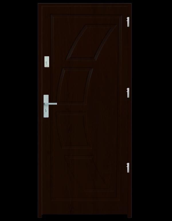 Drzwi wejściowe Dioryt 2 Orzech Ciemny