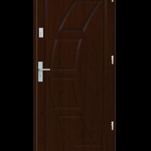 Drzwi wejściowe Dioryt 2 Orzech Jasny