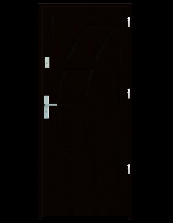 Drzwi wejściowe Dioryt 2 Wenge