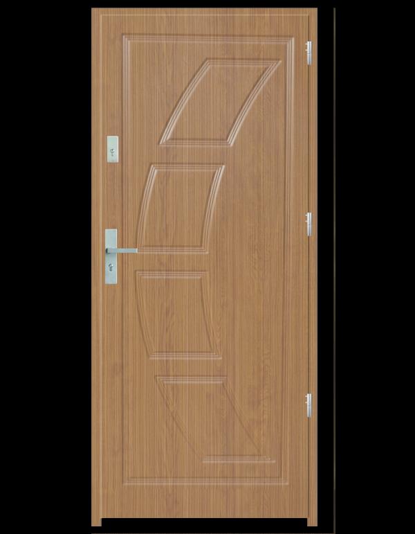 Drzwi wejściowe Dioryt 2 Zebrano