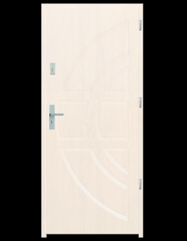Drzwi wejściowe Dioryt Biały