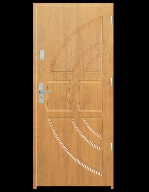Drzwi wejściowe Dioryt Buk