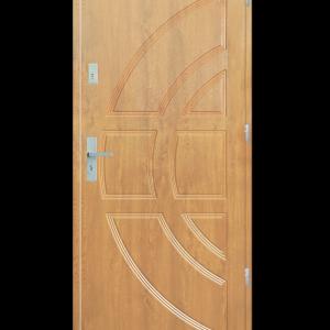 Drzwi wejściowe Dioryt Dąb Bielony
