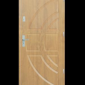 Drzwi wejściowe Dioryt Dąb Patyna
