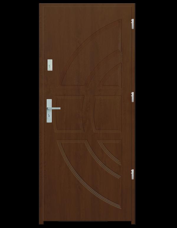 Drzwi wejściowe Dioryt Dąb Złoty