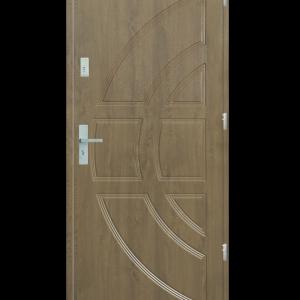 Drzwi wejściowe Dioryt Jesion