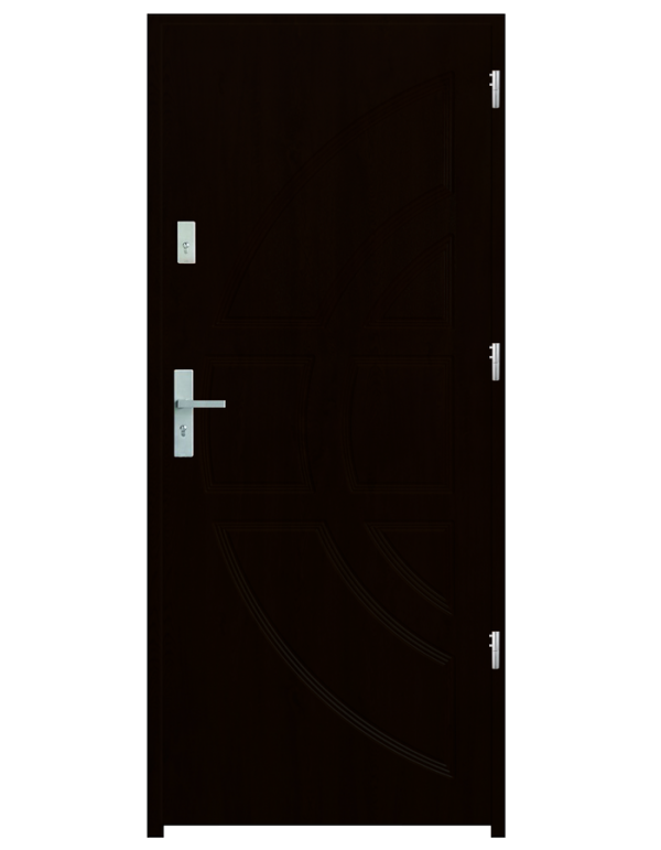 Drzwi wejściowe Dioryt Kasztan