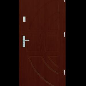 Drzwi wejściowe Dioryt Mahoń