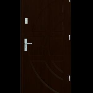 Drzwi wejściowe Dioryt Orzech Ciemny