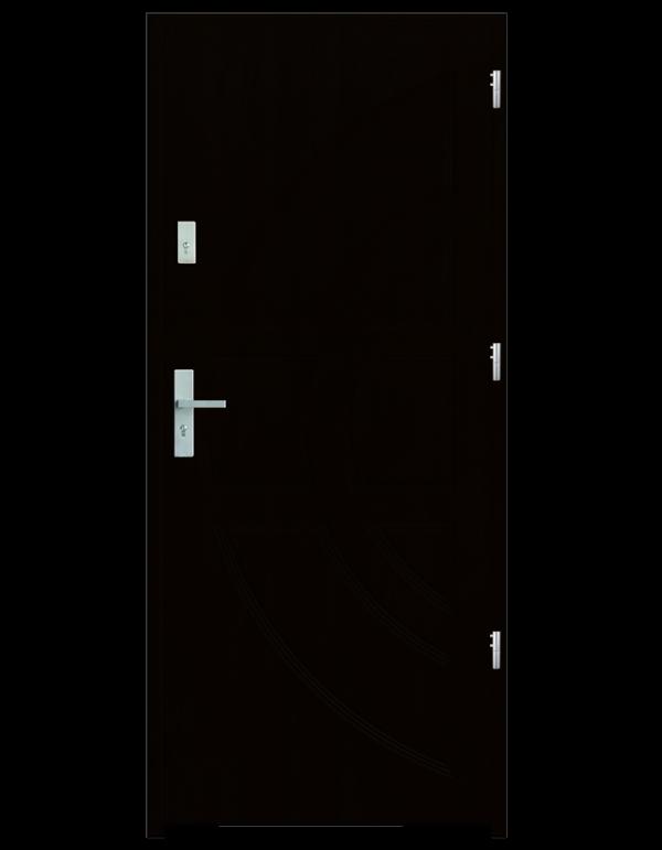 Drzwi wejściowe Dioryt Wenge