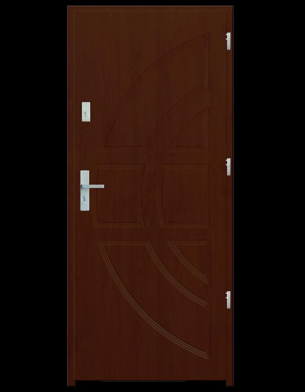Drzwi wejściowe Dioryt Wiśnia