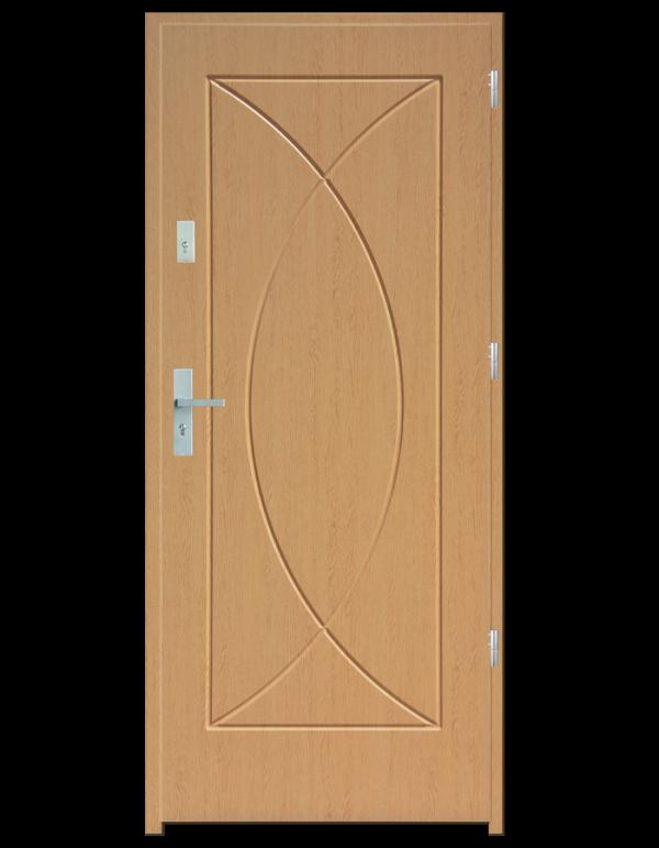 Drzwi wejściowe Eos Buk