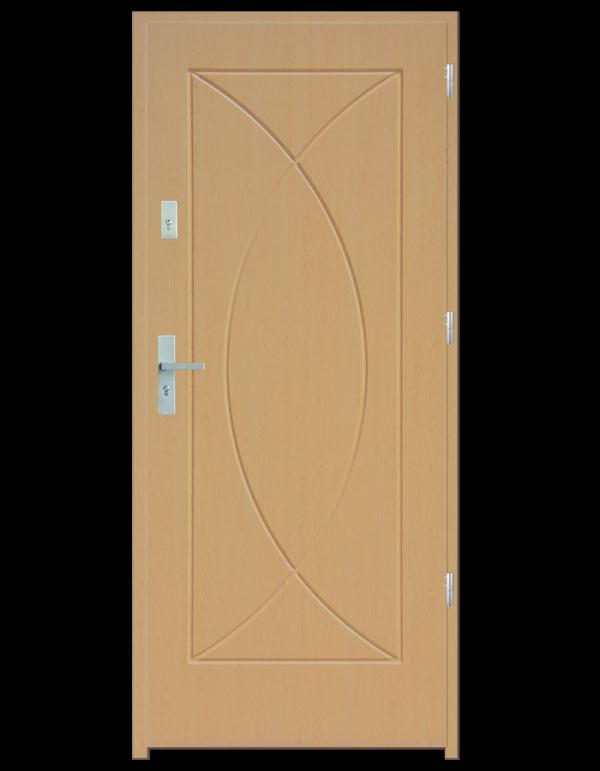 Drzwi wejściowe Eos Dąb Bielony