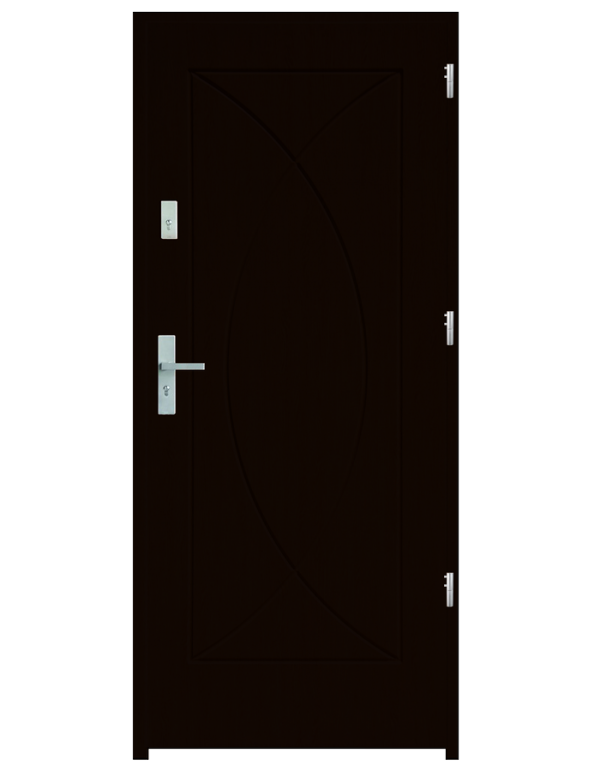 Drzwi wejściowe Eos Kasztan