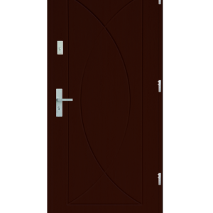 Drzwi wejściowe Eos Mahoń