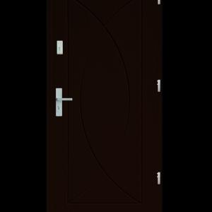 Drzwi wejściowe Eos Orzech Ciemny
