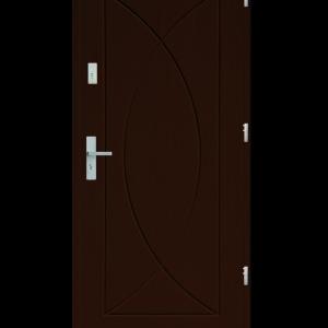 Drzwi wejściowe Eos Orzech Jasny